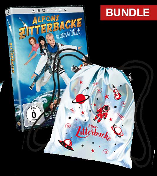 Bundle: Alfons Zitterbacke DVD + Turnbeutel